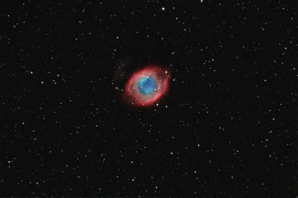 NGC7293, D=127mm @ f/6, 8 x 600 sek, ISO 800