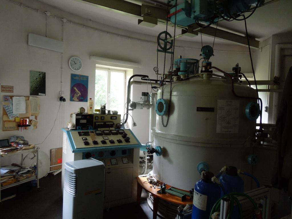 Die Vakuumkammer