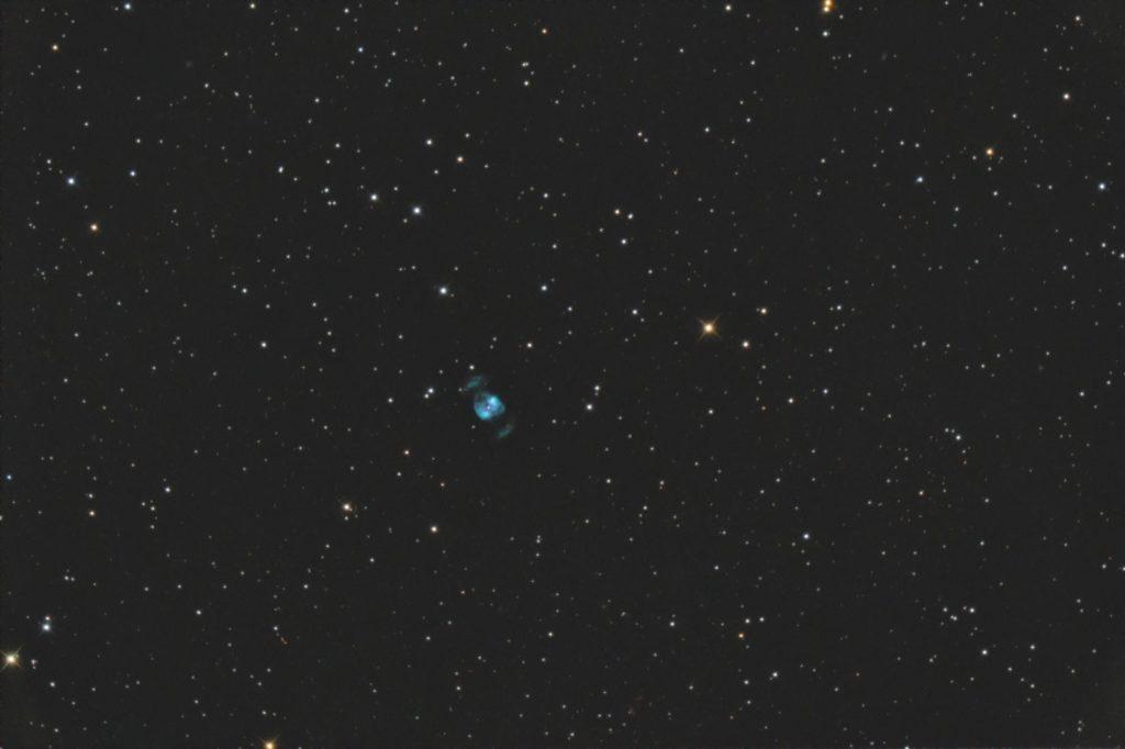 "NGC2371 mit 12""RC nur 180s belichtet. Canon 40D, 2015"